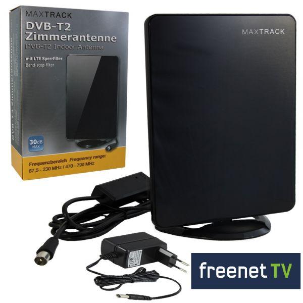 Aktive-DVB-T2-Zimmerantenne-30db-schwarz