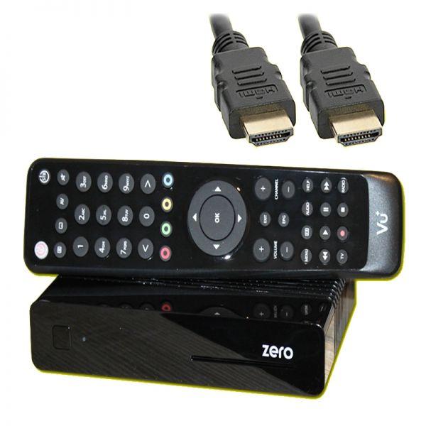 VU+ Zero Schwarz Sat-Receiver Linux E2 Full HDTV