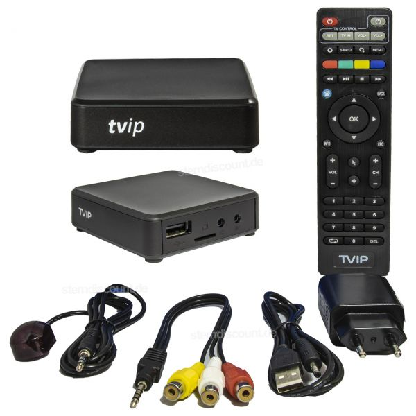 TVIP v.615 ( NEU ) 4K ULTRA HD - IPTV Stalker Player