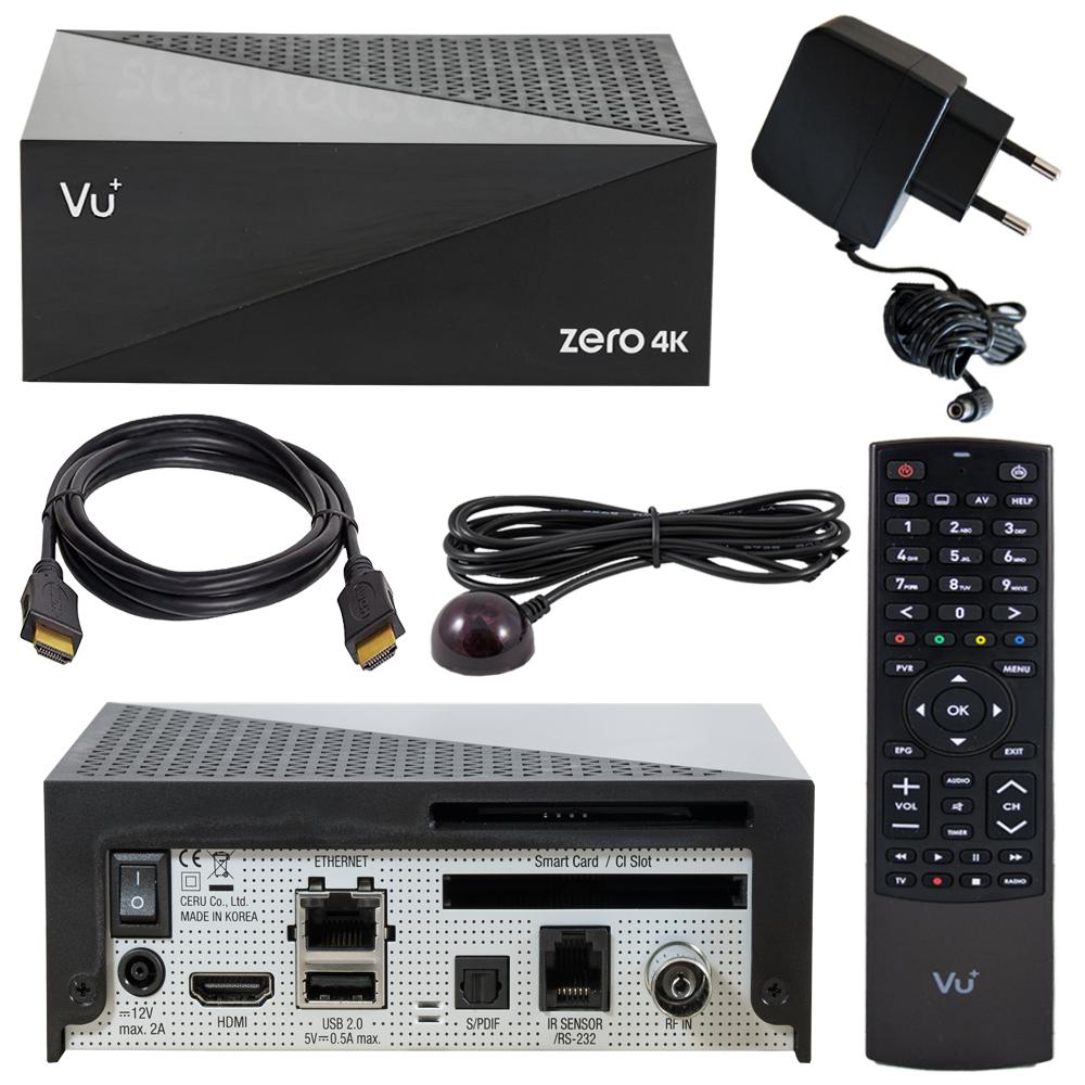 Vu Zero 4k Dvb C T2 Kabelreceiver Digital E2 Uhd Kabel Receiver Ir S Pdif Vorschau Kabelanschluss