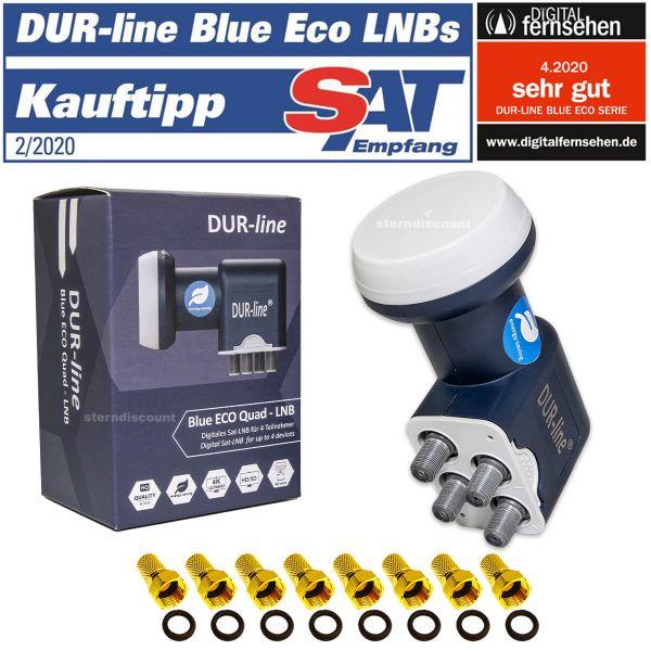 Dur-Line Blue Eco Quad LNB-test erfahrung
